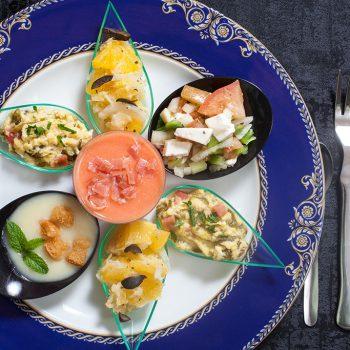 Platos del Restaurante Café Bar Balcón de Lorca en Lanjarón (Alpujarra de Granada)