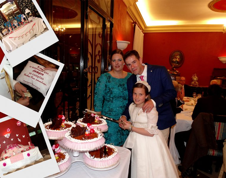 Celebración de comuniones en Lanjarón