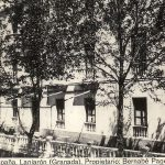 Hotel España en Lanjarón, en el pasado